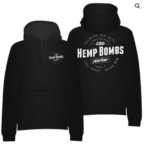 hempbombs hoodie