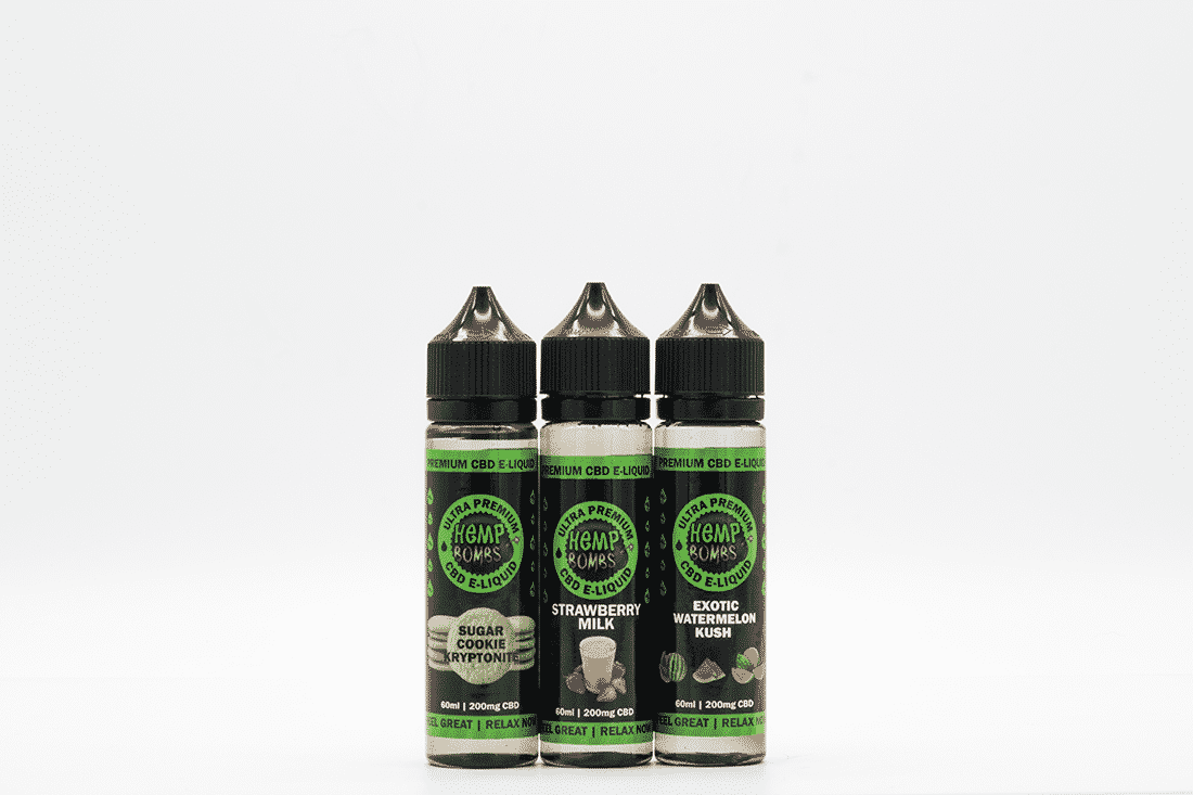 Hemp Bombs E-Liquid Review