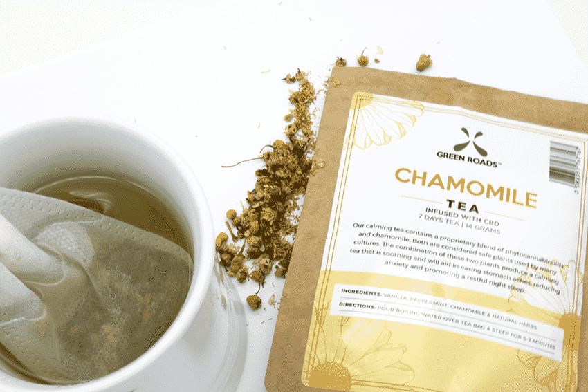 Green roads world cbd tea