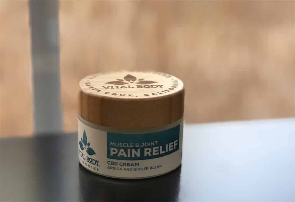 Vital Body Therapeutics CBD Pain Cream