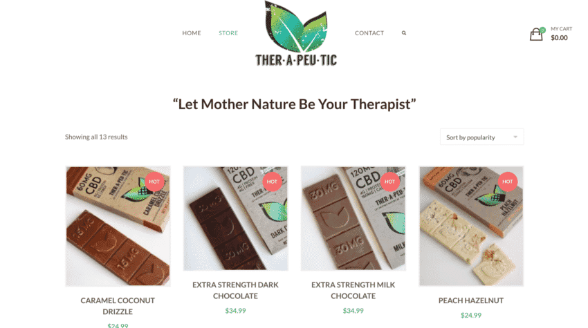 Thera treats chocolate