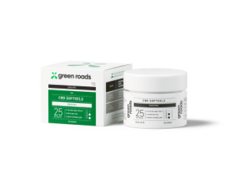 Green Roads CBD Softgel capsule