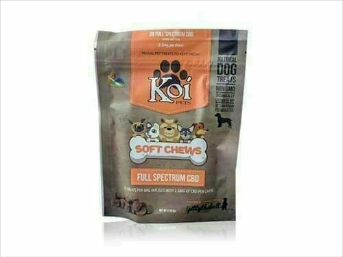 Koi cbd pets cbd soft chews