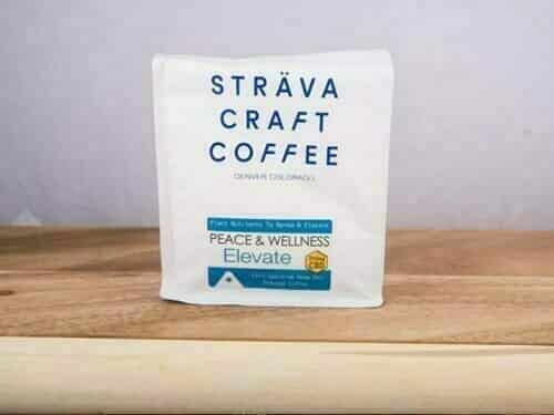Strava craft cbd coffee elevate