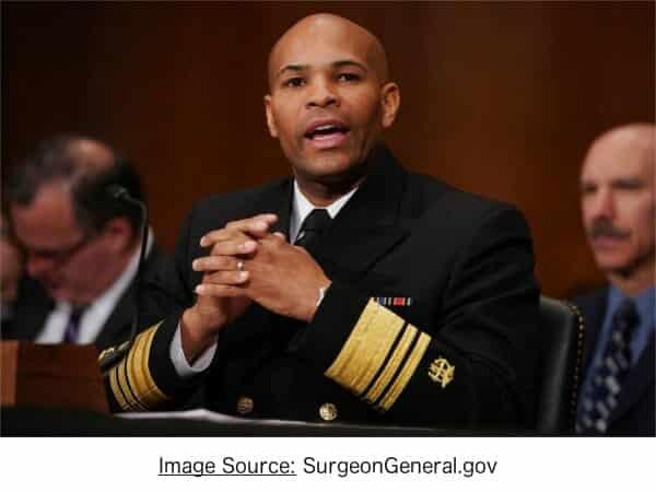 Surgeon general advocates cannabis