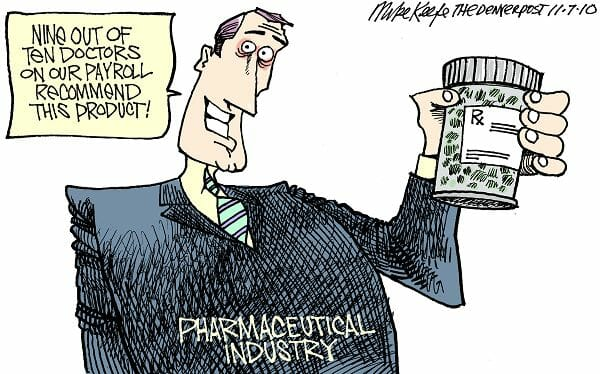 CBD big pharma mike keefe