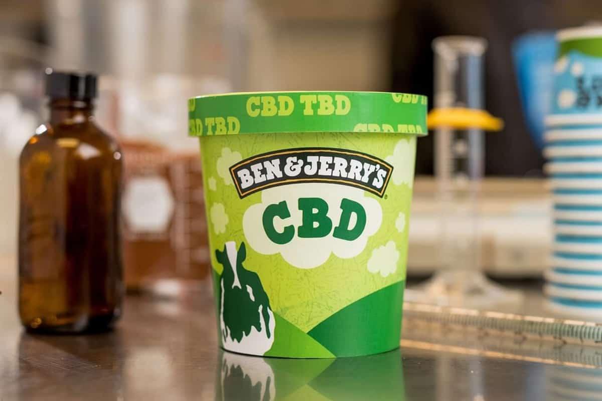 Ben & Jerry's CBD Ice Cream