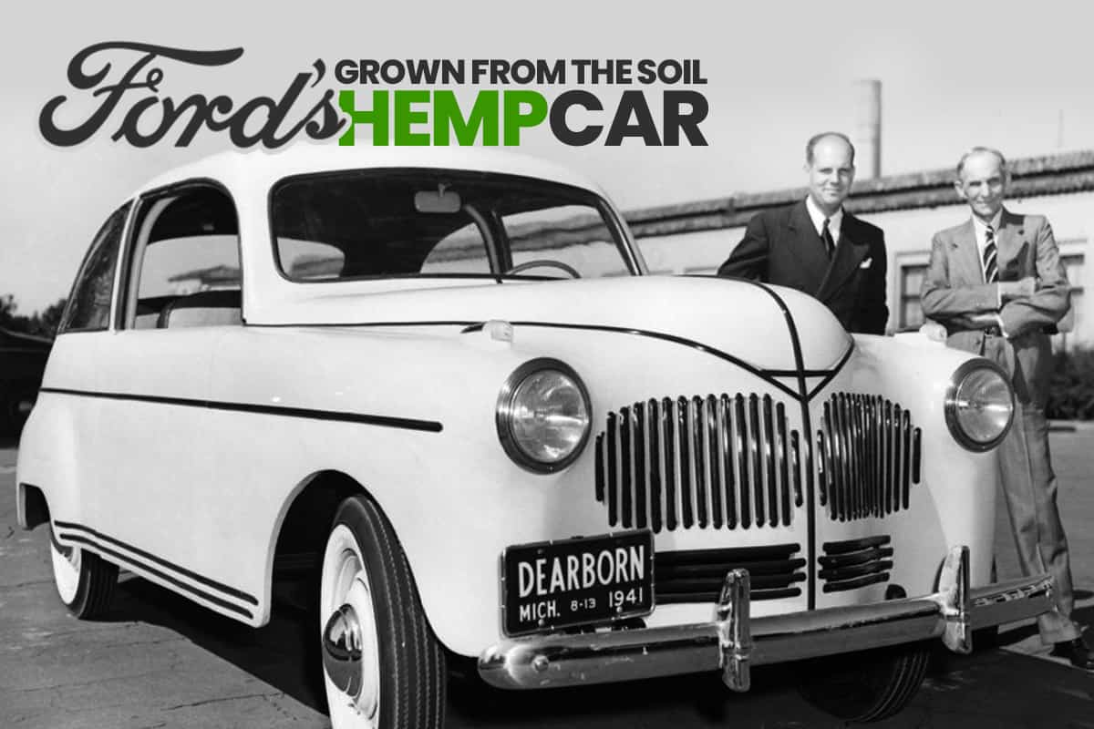 Ford's Hemp Car