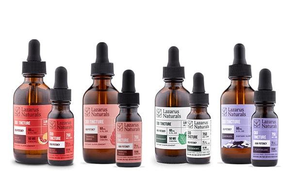 best cbd oil tinctures lazarus naturals
