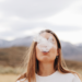 girl smoking CBD Cigarettes