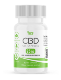 Full Spectrum CBD Oil Gel Capsules