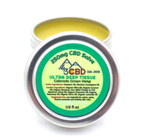 43 CBD Tincture and Salve Review