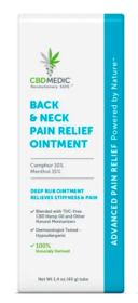 CBD Medic Back & Neck Pain Relief Ointment Review